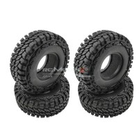 "RC Crawler Tyres with Foams for 1.9"" Wheels (113x45mm)"