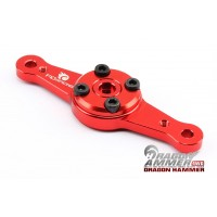 F.I.D Adjustable 15t Alloy Servo Horn - RED