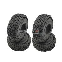 "RC Crawler Tyres with Foams for 1.9"" Wheels (120x45mm)"