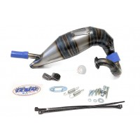 Olimat Dragon Hammer Un-Silenced Exhaust Pipe