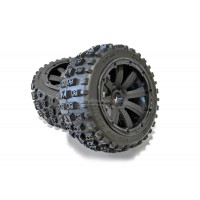MadMax Bow Tie Tyres On 8 Spoke Rims