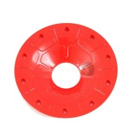 Enclosed outer beadlock Red (4pc)