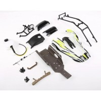 Rovan Baja Conversion to Shorty Q Kit for 5B - Green Body