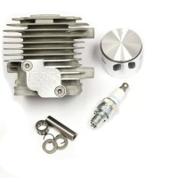 ESP Case Reed Ported Zenoah 4-Bolt 36mm 30.5cc Top End Kit (for +2mm Strokers