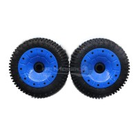 30 Degree North 'Signature' Mini-Pin Wheels Blue