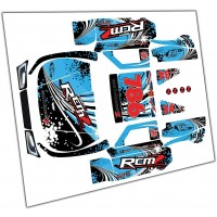 Team RCMZ DTT Big Flex Body Wrap Kit