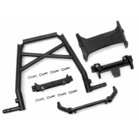 Baja Buggy Center Rollcage Set - Black