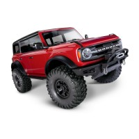TRX-4 2021 Ford Bronco 1:10 4X4 Electric Scale & Trail Crawler, Red
