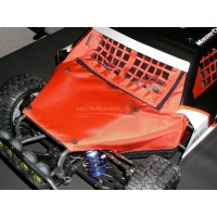 Outerwears Losi 5ive-T Chassis Shroud - Red