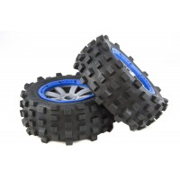 MadMax Giant Grip Blue & Grey (2pc)