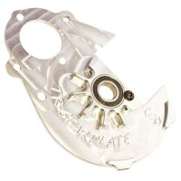 Turtle Racing Integrated Alloy Gear Plate - Silver