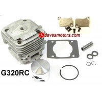 Zenoah G320RC 4-Bolt Top End Kit 38mm 31.8cc (ESP Modified for +2mm Stroker Crankshaft) & Race PORTED