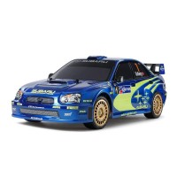 Tamiya RC Subaru Impreza Mexico 2004 - TT01E Build Kit