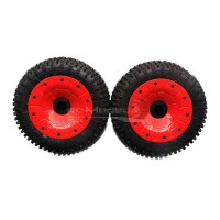30 Degree North 'Signature' Mini-Pin Wheels Red