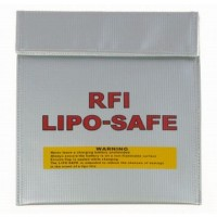 Fireproof RC Li-Po Battery Safe Sack - Small