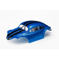 Baja 5T Beetle Body Blue with Black Stripes