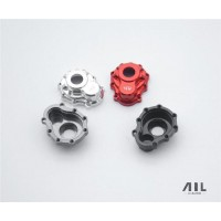 All Racing Traxxas TRX4 Alloy Portal Drive Housing's (Outer) - (Front or Rear) - Black