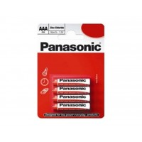 Panasonic R03RZ/4BP AAA Zinc Carbon 1.5V Batteries